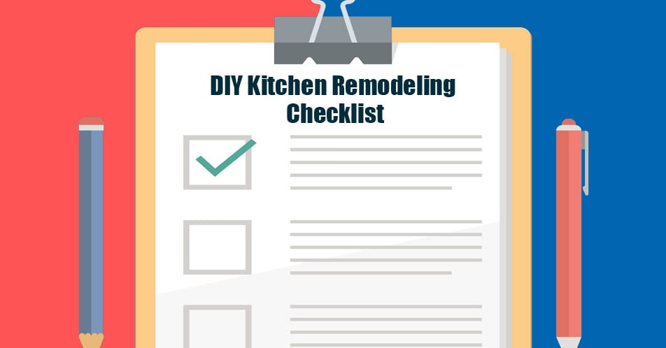 Diy Kitchen Remodeling Checklist Mcdaniels Kitchen Bath
