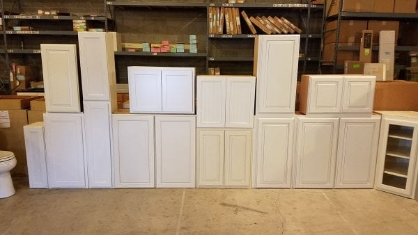 White Painted Wall Cabinets 2020