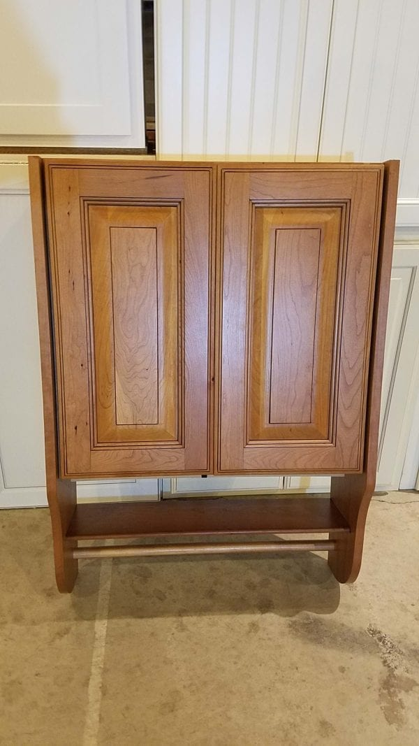 Cherry Tank Topper Cabinets For Sale 2020