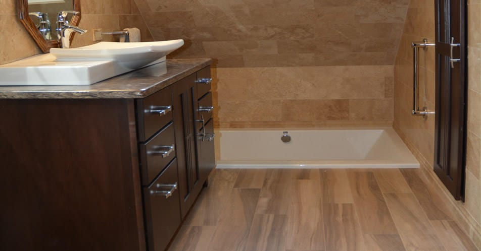 Bathroom Flooring Options Ceramic Tile Vinyl Marble Mcdaniels