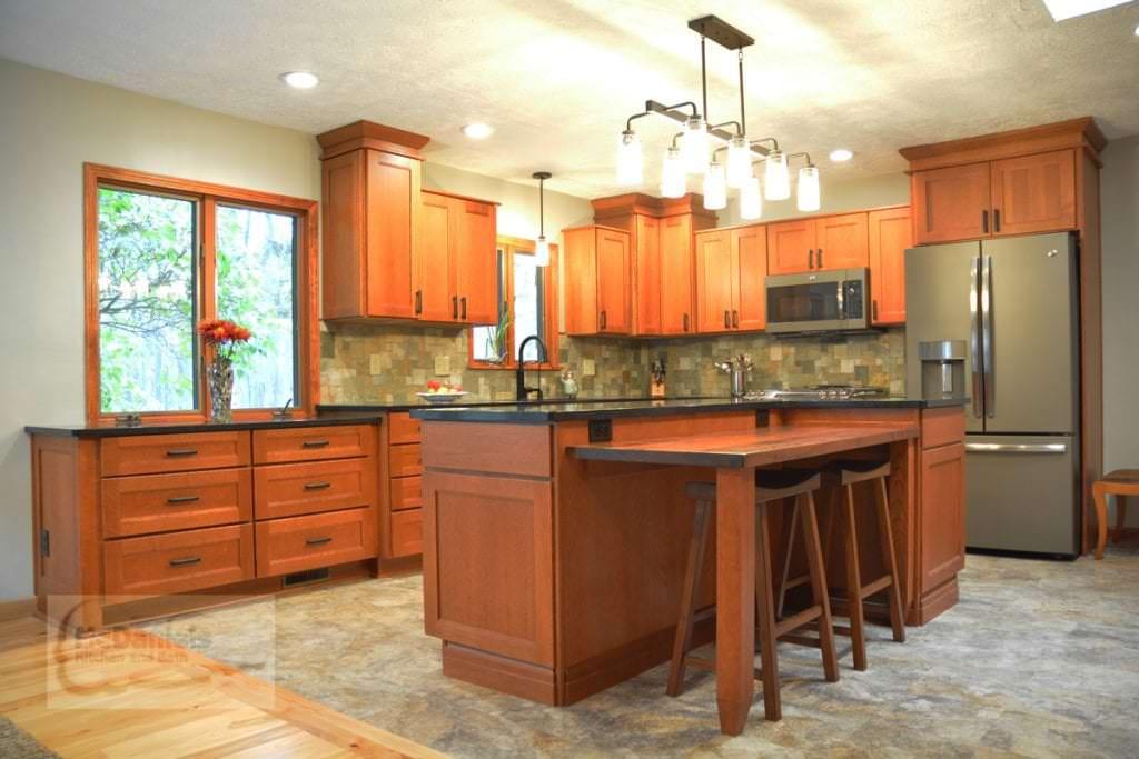 Kitchen design lighting