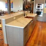 Kitchen design with island