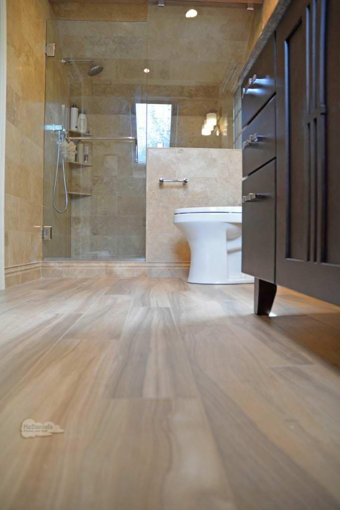 bathroom floor porcelain tile