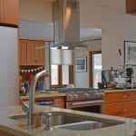 kitchen design with stainless appliances
