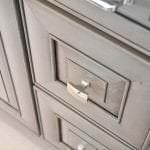 raised panel vanity cabinet