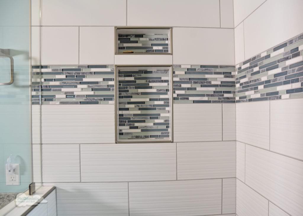 shower storage niche