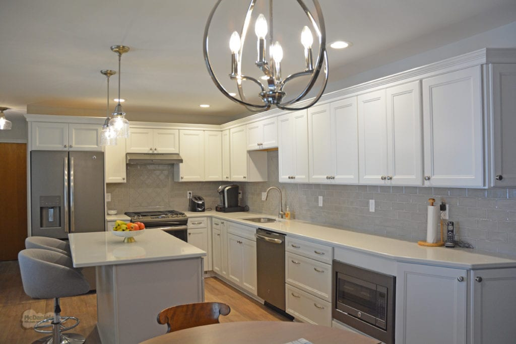 kitchen design with pendant lights