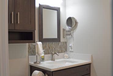 compact bathroom design