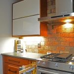 kitchen design with spice pull out storage