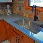 large undermount kitchen sink