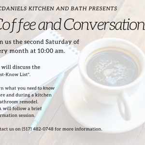 coffee and conversation event April