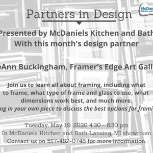 Partners in Design May event