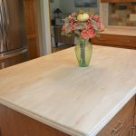 kitchen design with Corian countertop
