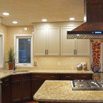 two tone kitchen design