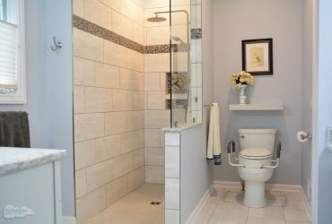 accessible master bath design