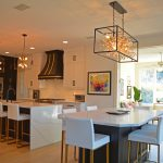 large open plan kitchen design