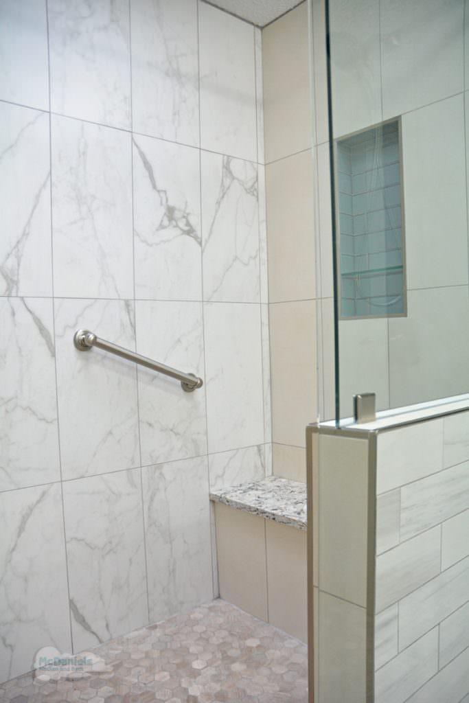 large open shower design
