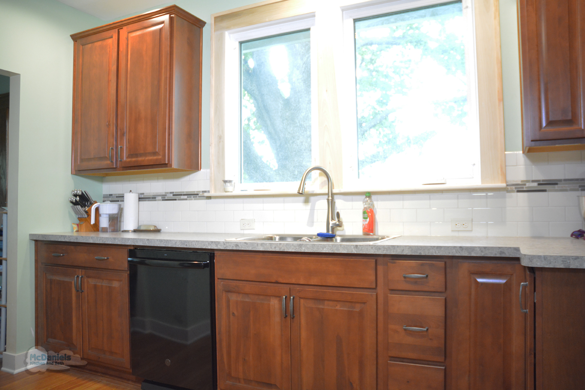 kitchen cabinets with sink