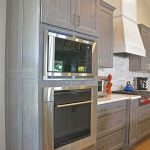 kitchen design with wall oven