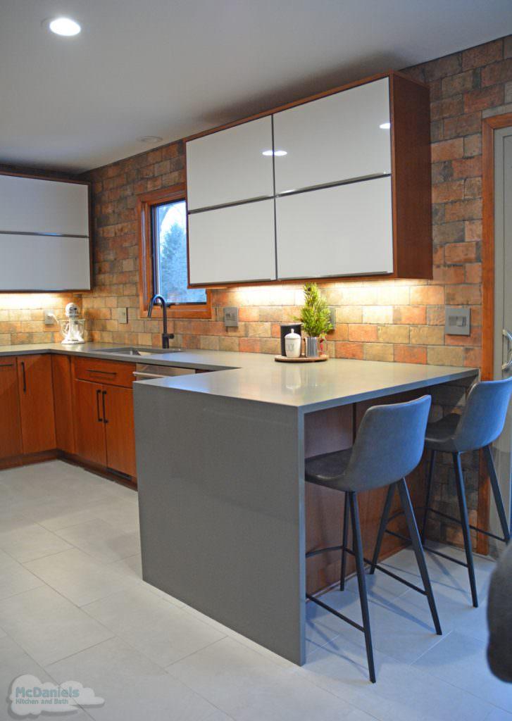 kitchen with ceramic tile floor
