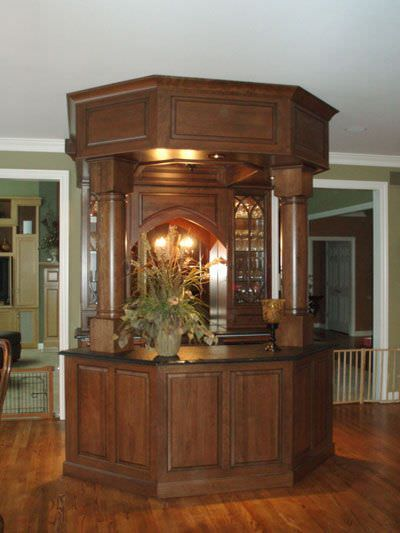 Custom Beverage Bars Wine Storage Mcdaniels Kitchen