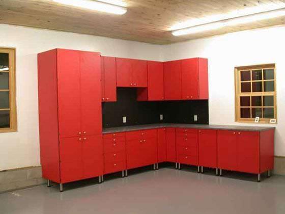 Custom Built Amp Designed Garages Storage Space Amp Flooring